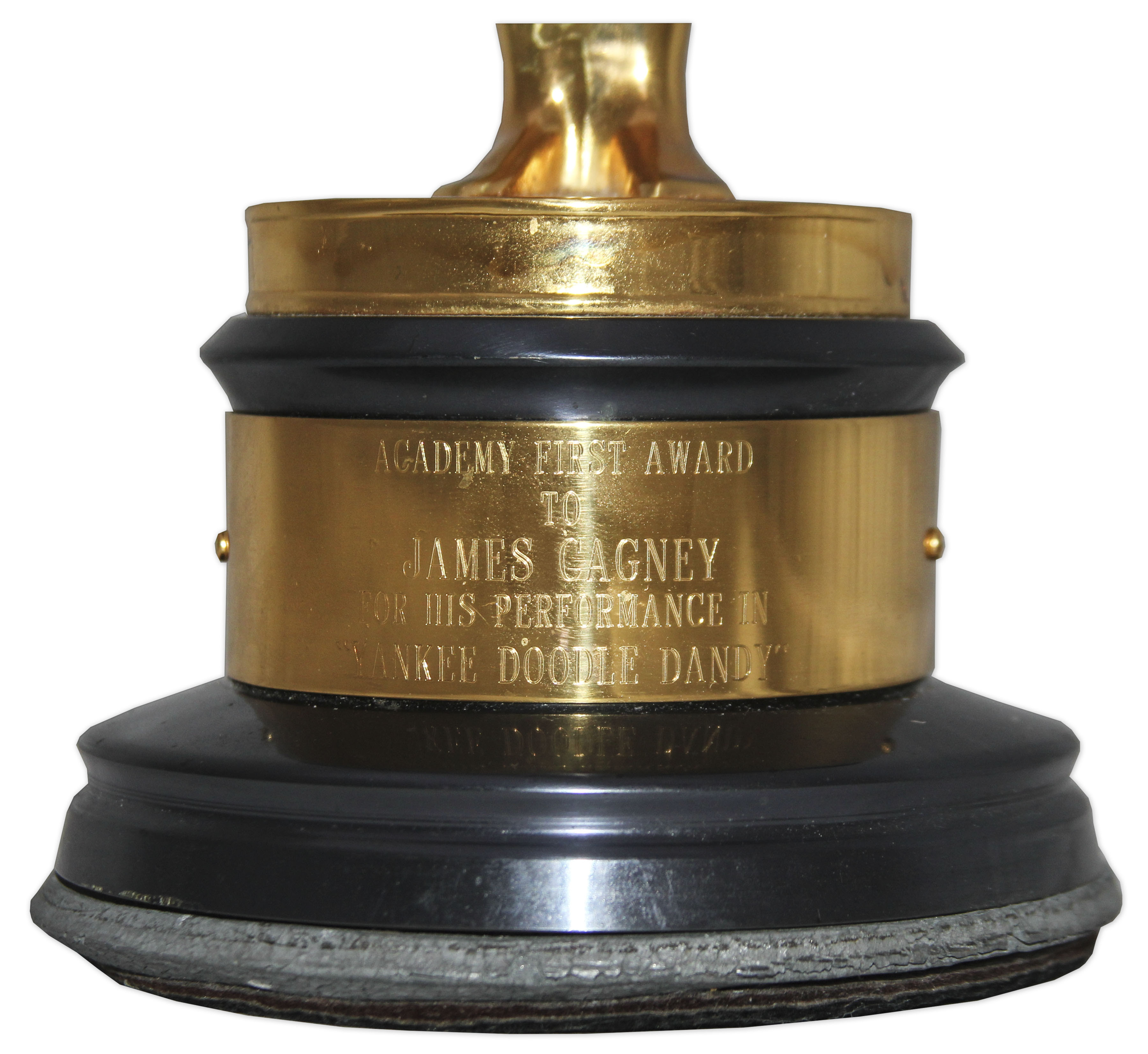 Lot Detail - Academy Award for Best Actor Won by James ...