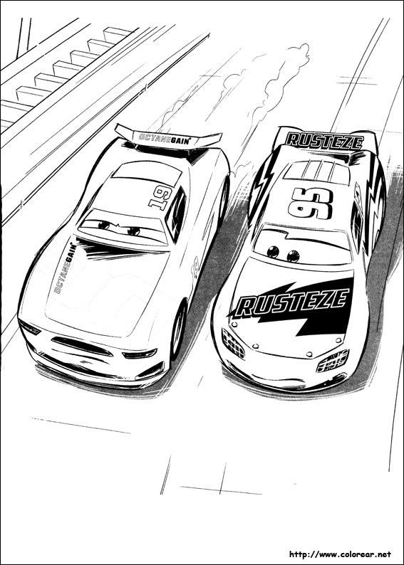 Dibujos De Cars 3 Para Colorear En Colorearnet