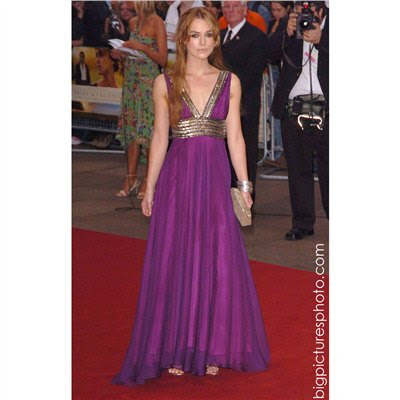 Keira Knightley wore it to the premiere of Pride and Prejudice and usually