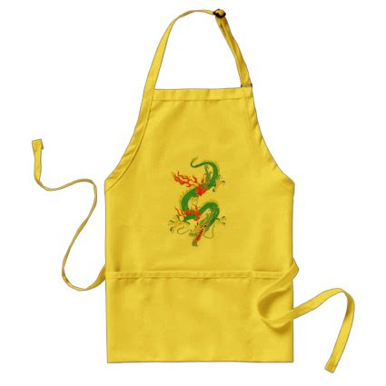 Chinese Dragon Apron