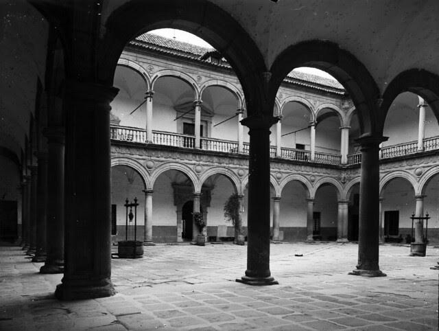 Hospital Tavera en los años 20. Fotografía de Otto Wünderlich. © Fototeca del Patrimonio Histórico