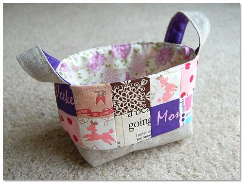 custom fabric basket