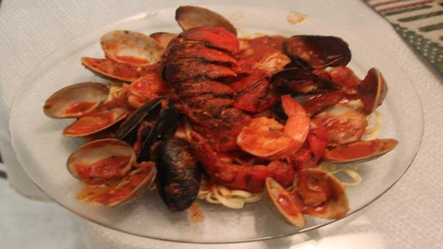 Italian Frutti Di Mare Recipe On Linguini