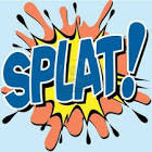 A Splat Comic Book Illustration Royalty Free Cliparts, Vectors
