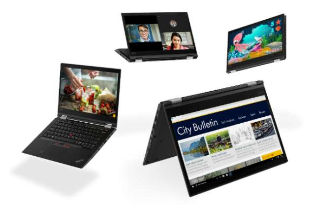 Lenovo products for CES 2018