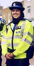 Police in hijab