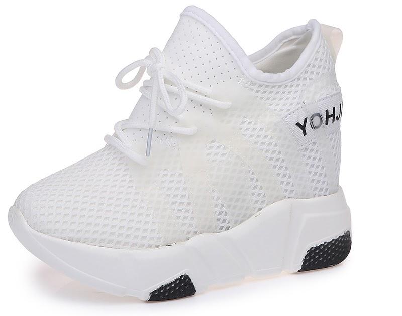 355f5a126f2 Goede Kopen DAGNINO 2018 Vrouwen 10 Cm Dikke Zool Sneakers Dames ...