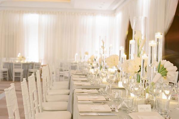 20 Pure White Wedding Decor Ideas For Romantic Wedding Style
