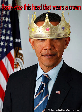 King Obama SC Why the word Tyrant accurately describes Obama