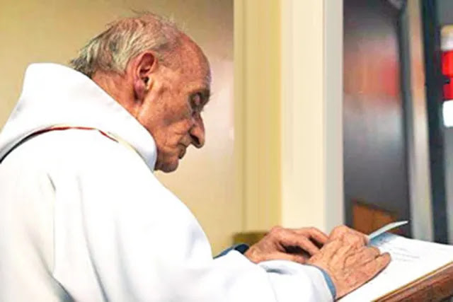 Fr. Jacques Hamel. Credit: Diocese of Rouen via Wikipedia.