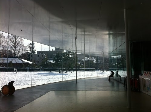 Inside 21st Century Museum of Contemporary Art, Kanazawa