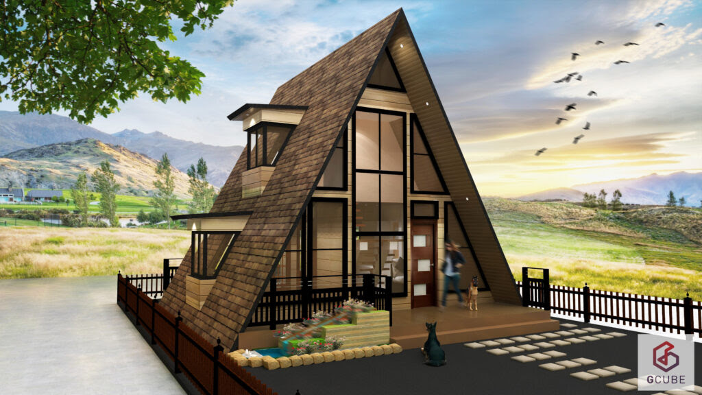 Small House Design Philippines: Resthouse and 4person Office in One? - Simply Elegant Home Designs Blog: Small Metal Cottage House Plan