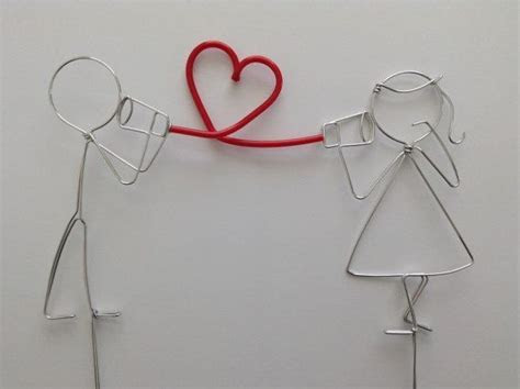 95 best Wire Wedding Cake Toppers images on Pinterest