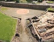I resti dell'anfiteatro di Chester