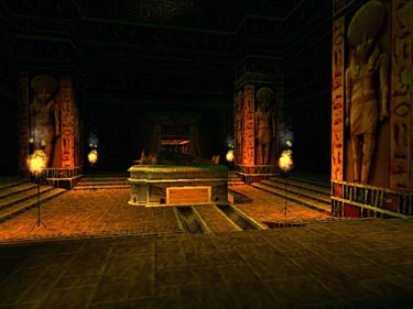 The Tomb of Seth in Tomb Raider 4
