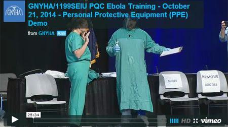 New York City Ebola Training