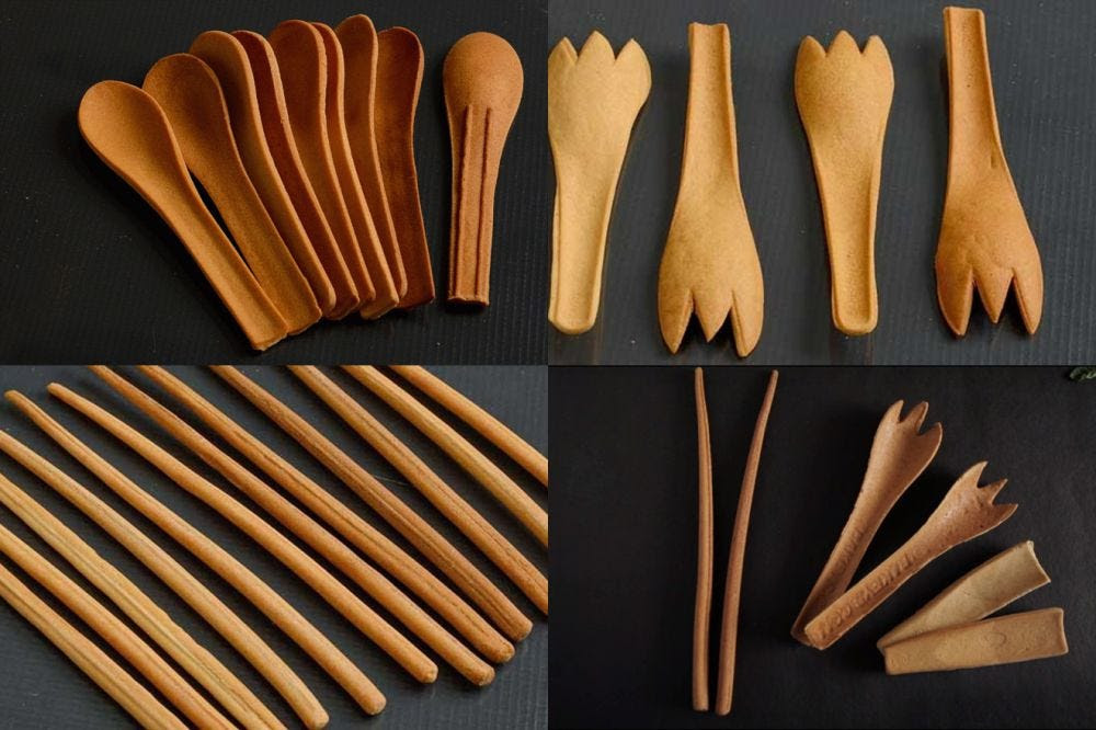 Image result for edible cutlery images