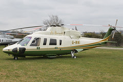 G-WIWI - 2007 build Sikorsky S-76C, at the 2012 Cheltenham Festival