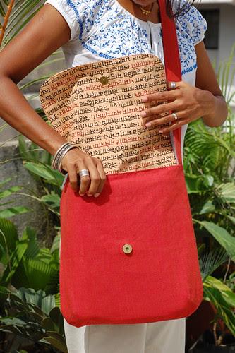 Diana messenger bag