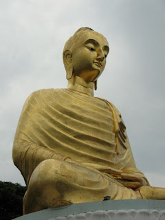 Big Buddha at Wat Tang Sai, Ban Krud