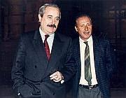 I magistrati Giovanni Falcone e Paolo Borsellino