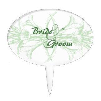 Pale Mint Green Floral Wedding