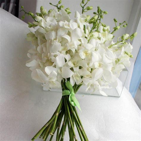 orchid wedding bouquets   Bouquets   White Dendrobium