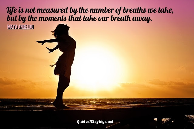 Maya Angelou Quotes Life Is Not Measured By The Number Of