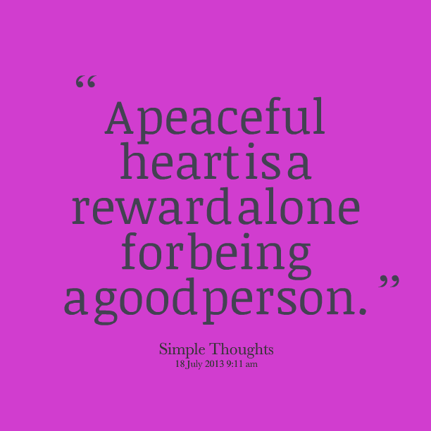 Quotes About Being A Good Person A Person In Love And A Good
