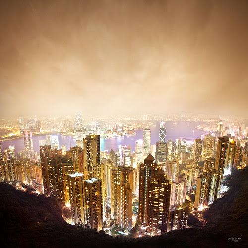 hong kong skyline por sadaiche (Peter Franc)