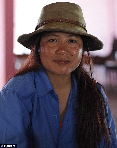 Kimii, 36, a 37ª esposa de Ziona