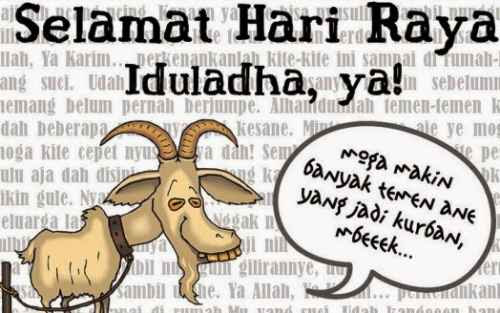 Meme Idul Adha 2017 Gambar DP BBM Idul Qurban 1438 H Lucu Terbaru
