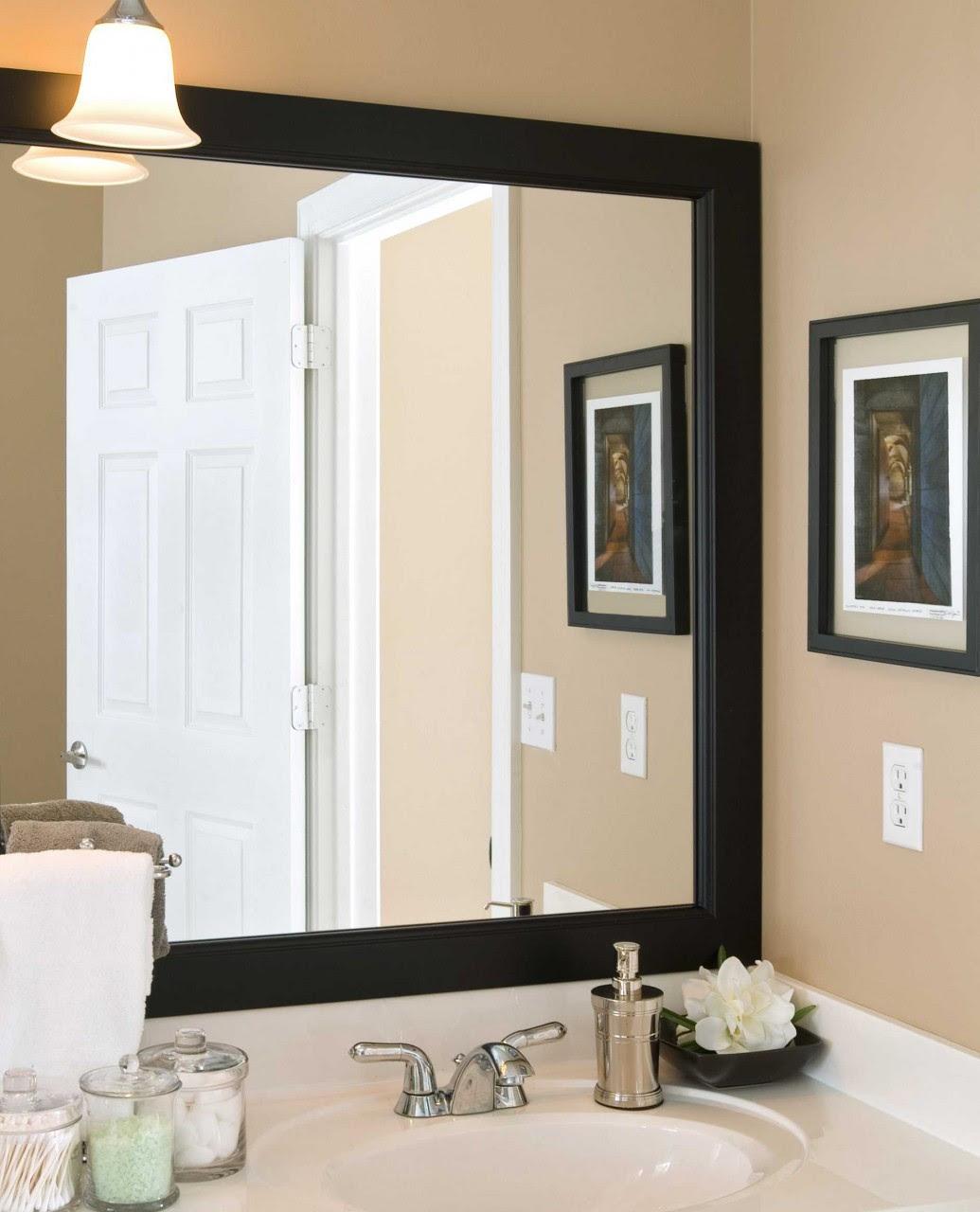 Bathroom Mirror Frames   Bathroom Mirror   Vanity Mirror ...