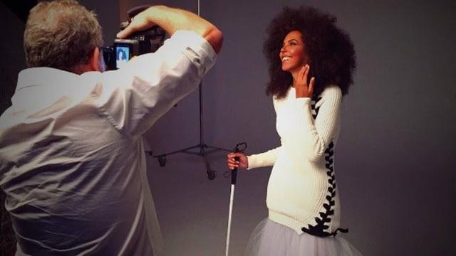 Nathalia Santos posa para Vogue Brasil
