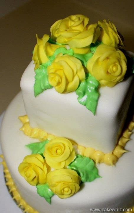 "86 best images about Yellow ""Rose"" Cakes/Cookies etc. on"