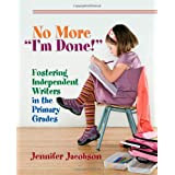 http://www.amazon.com/No-More-Done-Fostering-Independent/dp/1571107843/ref=sr_1_1?ie=UTF8&qid=1402457575&sr=8-1&keywords=No+more+I%27m+done