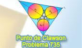 Problema de Geometría 630 (ESL): Triangulo órtico, Extangencial, Homotecia, Líneas Concurrentes, Semejanza.