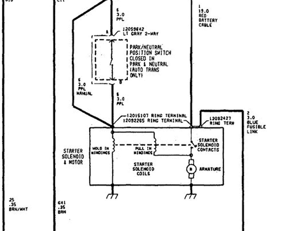 starter wiring diagram