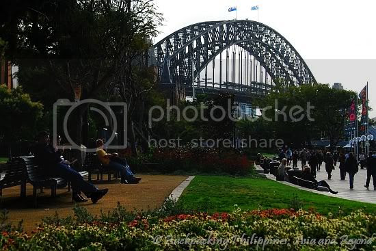 Sydney Harbour Bridge from Circular Quay