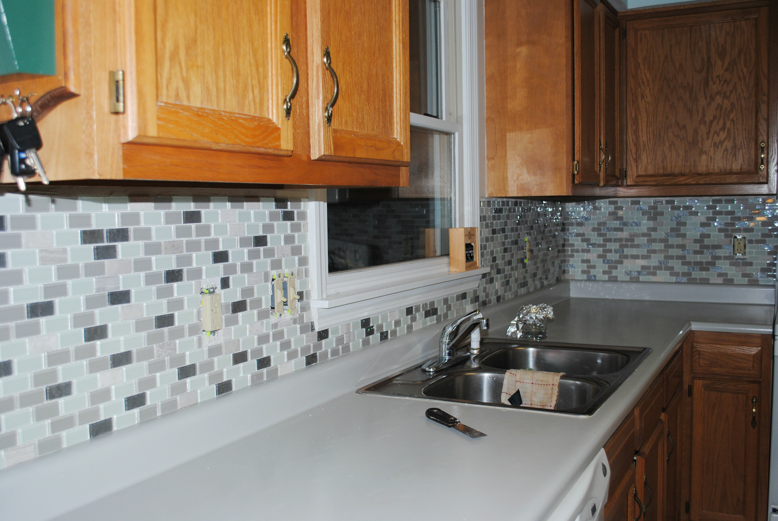 Groutless Kitchen Backsplash Home And