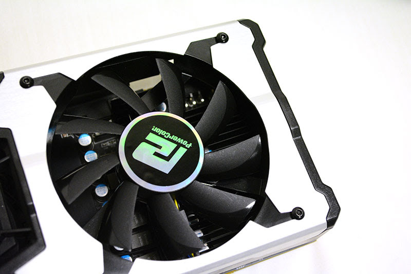 The fan provides dedicated air cooling to the VRM components.