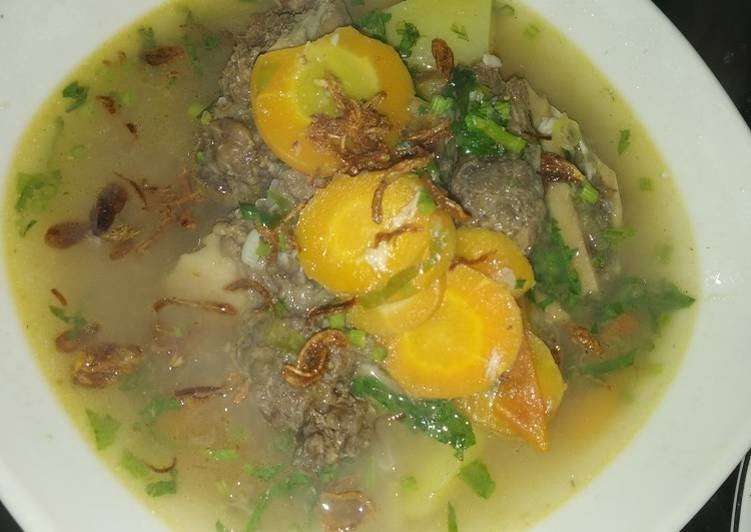memasak sop daging sapi campur kentang  sedap  mudah aneka resep sop enak  mudah Resepi Sup Daging Cincang Enak dan Mudah