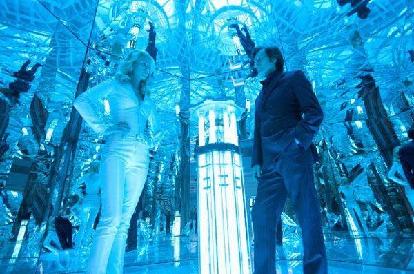 Emma Frost and Sebastian Shaw plan to start World War III in X-MEN: FIRST CLASS.