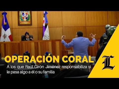 I Video I : A los que Raúl Girón responsabiliza si le pasa algo a su familia