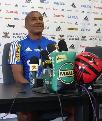 Cristóvão, técnico do Flamengo (Foto: Fred Gomes)
