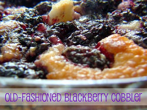 Blackberry Cobbler