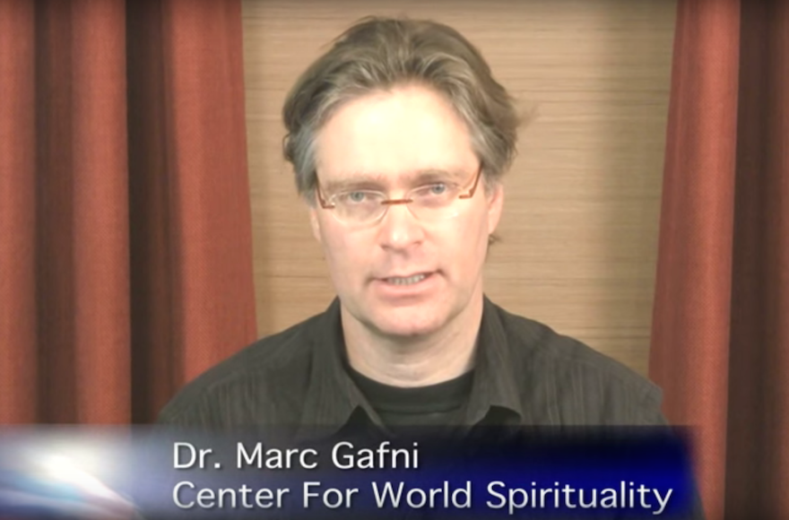 Marc Gafni (Screenshot from YouTube)