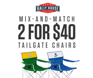 2 for $40 canvas chair