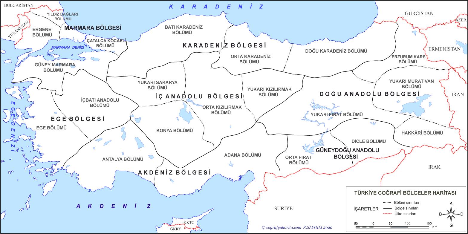 Türkiye Bölge Haritaları