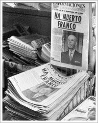 La prensa española anuncia la muerte de Franco (21/11/1975)